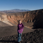 LJ at the Ubehebe Crater