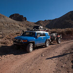 Road into Titus Canyon
