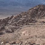 Volcanic rock on the Lippencott Grade