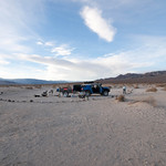 Camp at Eureka Dunes