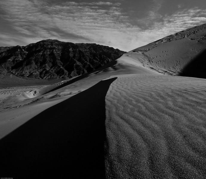 On Eureka Dunes