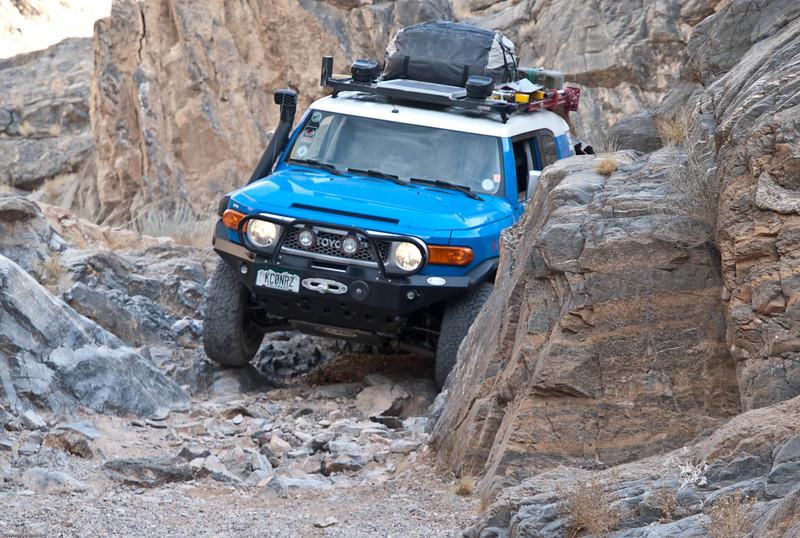 Dedeckera Canyon Narrows