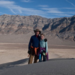 Tomas and LJ on Eureka Dunes