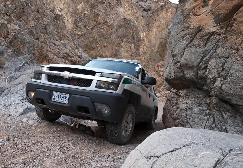 Ranger in Dedeckara Canyon