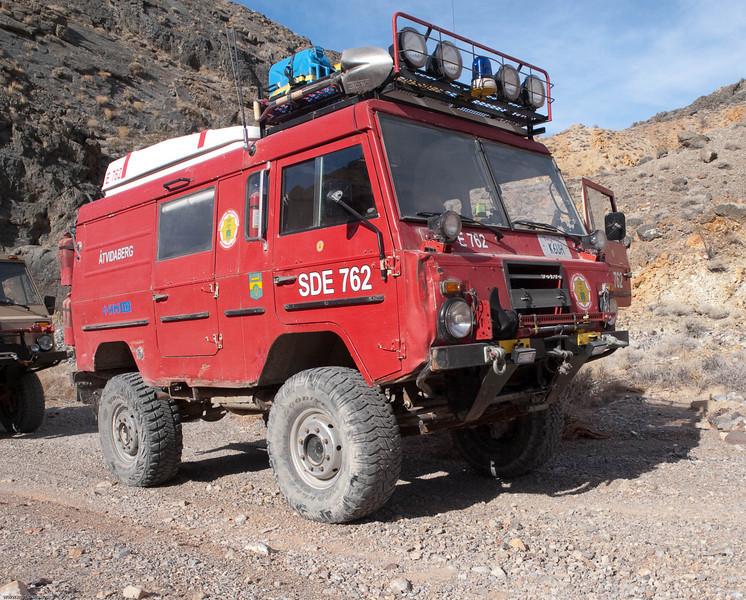 Volvo Expo Vehicle