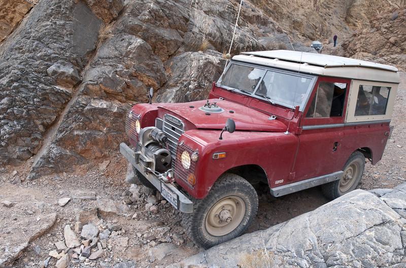 Old rover in Dedeckera