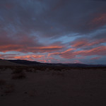 Sunrise over Eureka Dunes