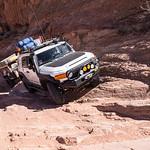 Gray Mesa Avoiding a small washout - 3