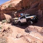 Grey Mesa Avoiding a small washout