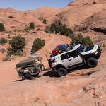 Gray Mesa Starting the climb up Gray Mesa