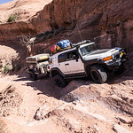 Gray Mesa Avoiding a small washout - 2