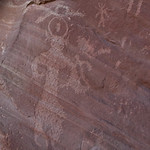 Rock art near Arch Canyon