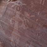 Rock art near Arch Canyon