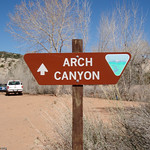 Entrance to Archg Canyon