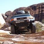 Climbing the Slick rock