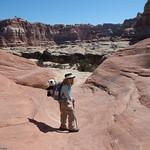 LJ Hiking to Druid Arch