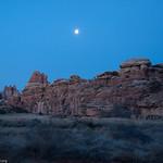 Moon over Devils Kitchen