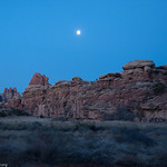 Moon over Devils Kitchen