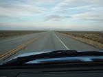 Heading across the San Louis Valley