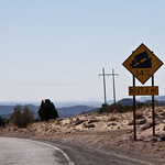 The road from Boulder Utah to Escalante