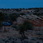 Camp Near Coyote Buttes