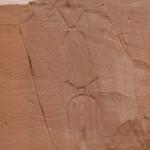 Rock art in Cottonwood Narrows