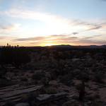 Sunset over Coyote Buttes