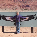 LJ and the Condor Wing Span