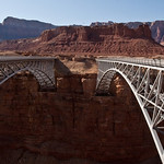 Navajo Bridge old and new