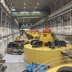 Glen canyon generation turbines