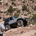 Jeep climbing Technical Section