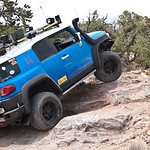 My Toyota FJ Cruiser on the trail
