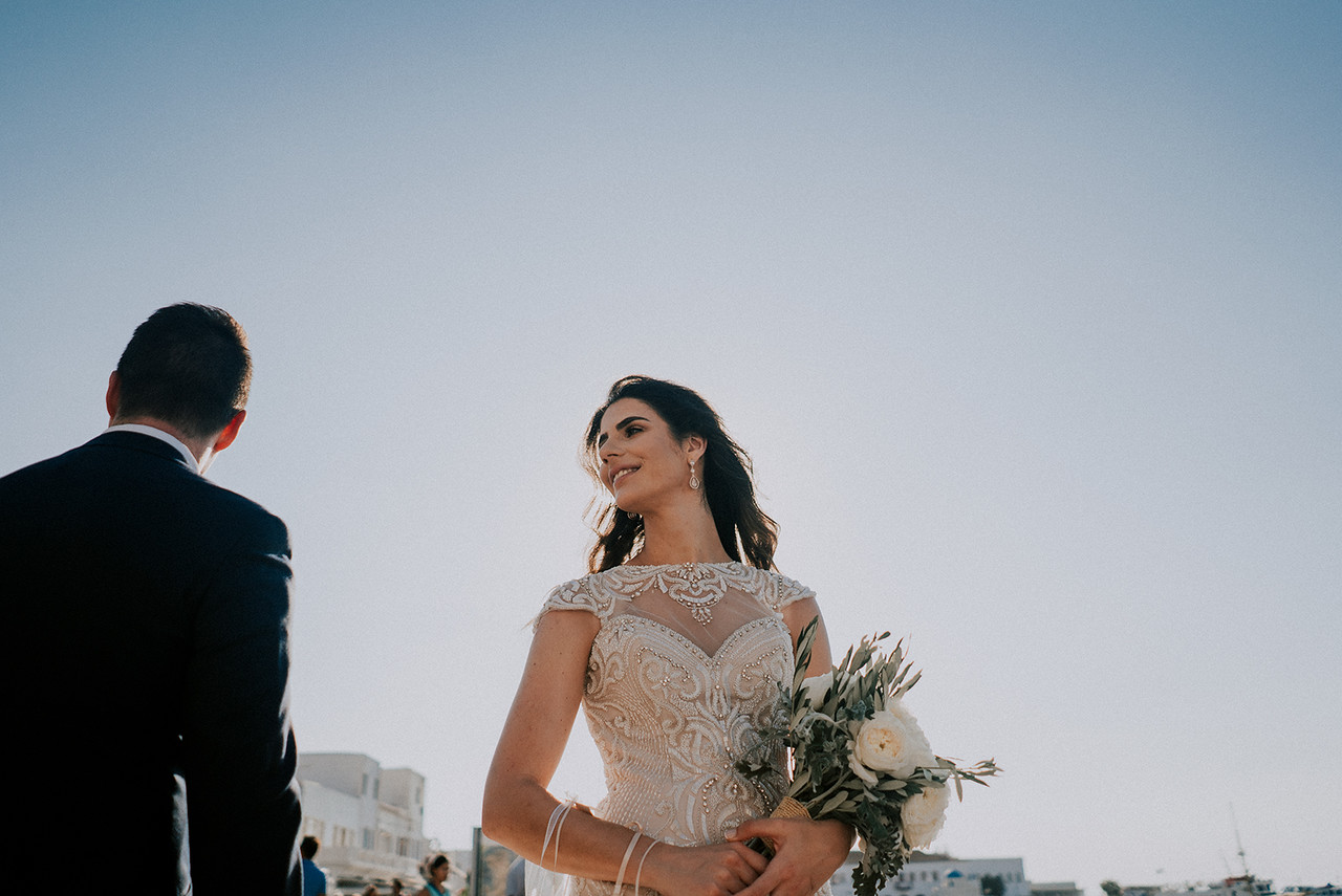 Greek Orthodox Wedding in Mykonos