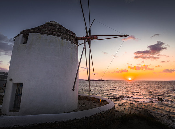Wind, Fire and Water! - Mykonos, Greece