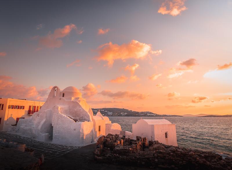 Holy Sunset! - Mykonos, Greece