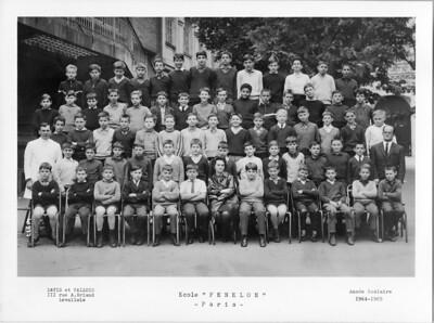 Ecole Fénelon 5e 1964-1965