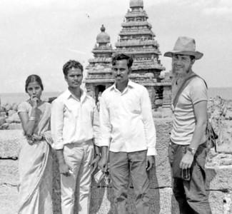We looked so young... - Mahabalipuram, India 1973