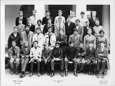 Lycée Condorcet 2nde 1967-1968