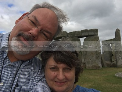 Windy day at Stonehenge