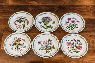 Portmeiron Botanic Garden Salad Plates