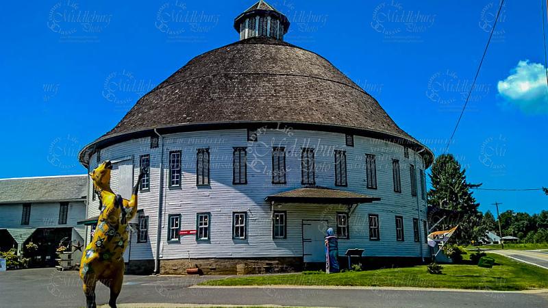 Historic Round Barn at Gettysburg PA