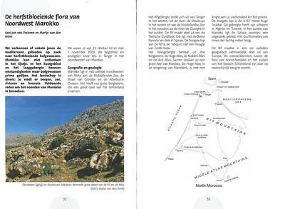 De herfstbloeiende flora van NW Marocco (NRV no 101 Februari 2011) p. 32-33