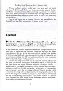 Editorial, Summer 2005, p3