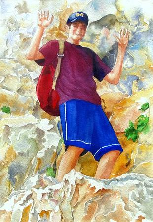 David Mountain Climber