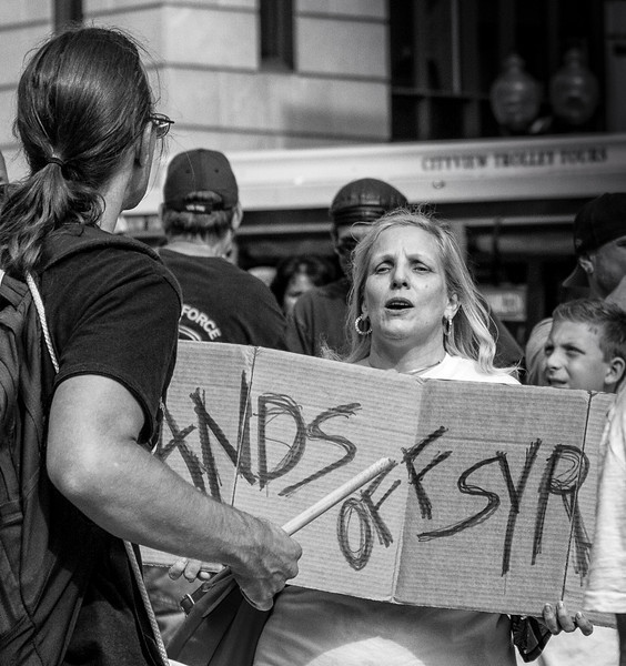 © 2014 Myrna Walsh - Boston Protestor