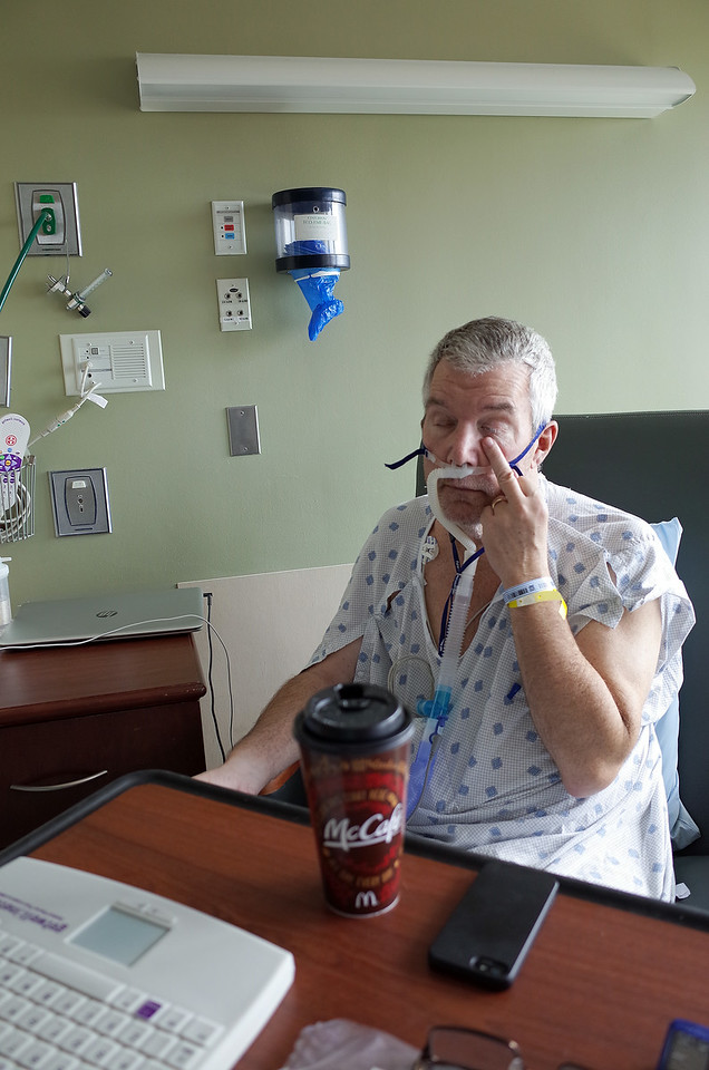 A Visit to Steve Kelly at TGH - August 10, 2014
