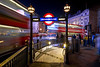Entrance to Piccadily Circus Subway Station in London