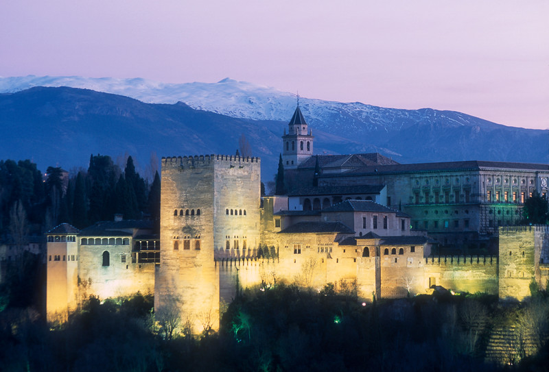 Alhambra Palace. Granada, Spain