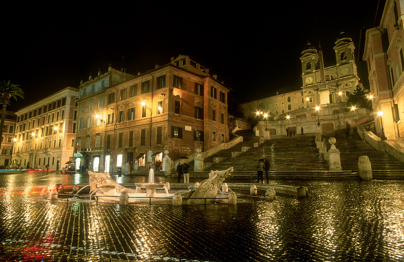 Barcaccia Fountain, Spanish Steps