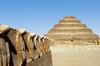Saqqara_step pyramid. Egypt